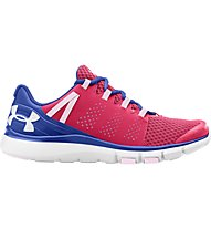 Under Armour Micro G Limitless Trainer - Turnschuh Damen, Rocket Red/Ultra Blue