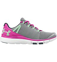 Under Armour Micro G Limitless Trainer - Turnschuh Damen, Grey/Pink