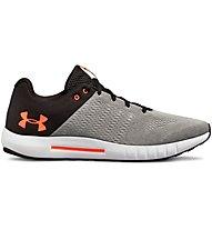 Under Armour Micro G Pursuit - scarpe running neutre - uomo, Grey/Black/Orange