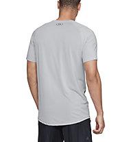 Under Armour MK-1 Colorblock - T-Shirt - Herren, Light Grey