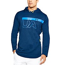 Under Armour MK-1 Terry Graphic - maglia fitness - uomo, Blue