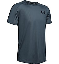 Under Armour MK1 Emboss - T-shirt fitness - uomo, Dark Grey