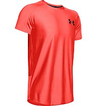 Under Armour MK1 Emboss - T-shirt fitness - uomo, Red