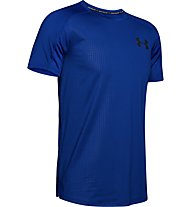 Under Armour MK1 Emboss - T-shirt fitness - uomo, Blue