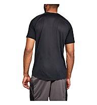 Under Armour Mk1 SS Logo Graphic - T-Shirt - Herren, Black