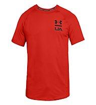 Under Armour Mk1 SS Logo Graphic - T-Shirt - Herren, Red