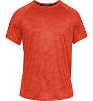 Under Armour MK1 SS Printed - T-Shirt - Herren, Orange