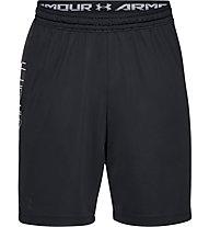 Under Armour MK1 Wordmark - Trainingshose kurz - Herren, Black