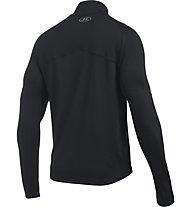 Under Armour No Breaks 1/4 Zip - maglia running, Black