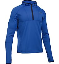 Under Armour No Breaks Balaclava Hoody - Fitnessshirt mit Kapuze Herren, Blue