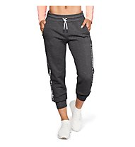 Under Armour Ottoman Fleece P W - pantaloni fitness - donna, Grey