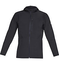 Under Armour Outrun The Storm - Hardshelljacke Running - Herren, Black