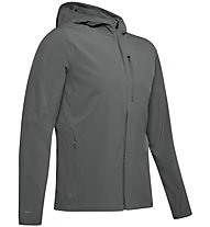 Under Armour Outrun The Storm - Hardshelljacke Running - Herren, Dark Grey