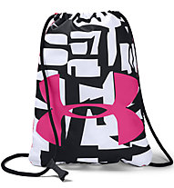 Under Armour Ozsee - sacca fitness, White/Black/Pink
