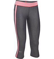Under Armour HeadGear - pantaloni corti fitness - donna, Grey/Rose
