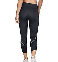 Under Armour Perpetual Speedpocker - pantaloni 3/4 running - donna, Black