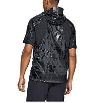 Under Armour Perpetual SS Windbreaker - giacca con cappuccio - uomo, Black