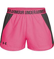 Under Armour Play Up 2.0 - Trainingshose kurz - Damen, Pink/Black