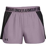 Under Armour Play Up 2.0 - Trainingshose kurz - Damen, Purple/Black