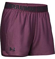 Under Armour Play Up 2.0 - Trainingshose kurz - Damen, Purple