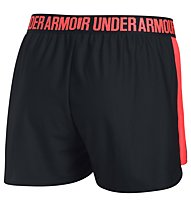 Under Armour Play Up Short - kurze Trainingshose - Damen, Black/Red