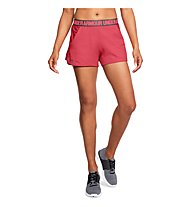Under Armour Play Up 2.0 - pantaloncini fitness - donna, Red