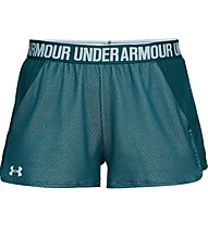 Under Armour Play Up 2.0 - pantaloncini fitness - donna, Green