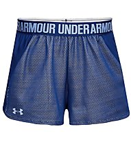 Under Armour Play Up 2.0 - pantaloncini fitness - donna, Blue