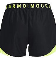 Under Armour Play Up Short 3.0 - Trainingshose kurz - Damen, Black/Yellow
