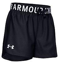 Under Armour Play Up Solid - pantaloni corti fitness - bambina, Black