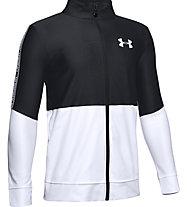 Under Armour Prototype - giacca della tuta - ragazzo, Black/White