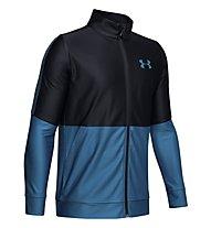 Under Armour Prototype - giacca della tuta - ragazzo, Blue/Black