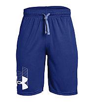 Under Armour Prototype Logo - pantaloni corti - ragazzo, Blue