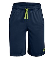 Under Armour Prototype Wordmark - Trainingshose kurz - Kinder, Dark Blue