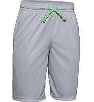 Under Armour Prototype Wordmark - pantaloni corti - ragazzo, Grey
