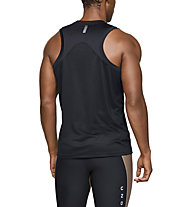 Under Armour Qualifier - Laufshirt ärmellos - Herren, Black