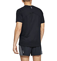 Under Armour Qualifier Glare - Laufshirt - Herren, Black