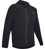 Under Armour Qualifier Outrun Storm - giacca hardshell - uomo, Black