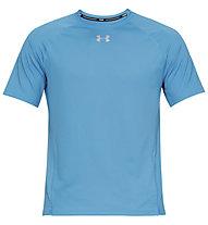 Under Armour Qualifier - T-shirt running - uomo, Azure