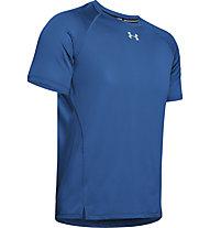 Under Armour Qualifier - T-shirt running - uomo, Blue