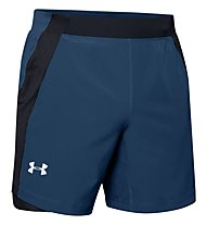 Under Armour Qualifier Speedpocket - Laufhose kurz - Herren, Blue/Black