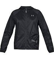 Under Armour Qualifier Storm Packable - giacca running - donna, Black