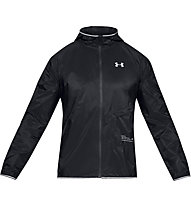 Under Armour Qualifier Storm Packable - giacca running - uomo, Black