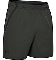"Under Armour Qualifier WG Perf 5"" Shorts - Traininghose kurz - Herren, Dark Green"