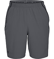 Under Armour Qualifier WG Perf - pantaloni corti fitness - uomo, Light Grey