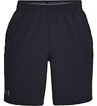 Under Armour Qualifier WG Perf - pantaloni corti fitness - uomo, Dark Grey