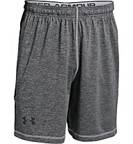 Under Armour 8inch Raid Novelty pantaloncini da ginnastica, Grey/Black