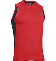 Under Armour Raid Sleeveless Tee Trainingsshirt Männer, Red/Black