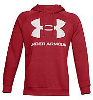 Under Armour Rival Fleece Big Logo Hoodie - Kapuzenpullover - Herren, Red/White