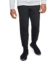 Under Armour Rival Fleece Jogger - pantaloni fitness - uomo, Black